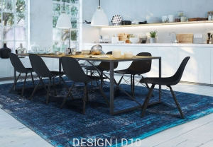 Dywan naturalny Orient (granatowy) - Blue Night Carpets & More